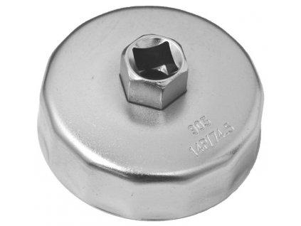 Klíč na olejové filtry miskovitý 74 mm, 14 hran - VT01935J