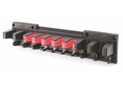 Držák na zahradní nářadí 597 x 128 x 118 mm Multi Holder, závěsný, černý