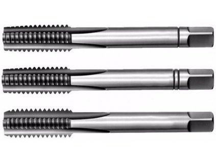 Závitníky sadové Whitworth BSW NO, PN8/3011, různé rozměry, sada 3 ks - Bučovice Tools