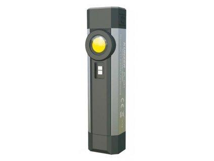 Inspekční LED COB a SMD svítilna nabíjecí, 250 lm, 2 200 mAh Li-Ion - Kunzer