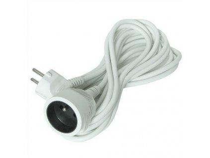 Prodlužovací kabel 10 m, 3 x 1,5 mm2, bílý