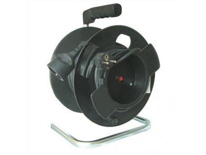 Prodlužovací kabel 25 m na bubnu, 3 x 1,5 mm2, 1 zásuvka