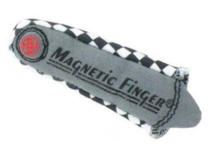 Magnetický návlek na prst, pro usnadnění montáže ve špatně přístupných místech