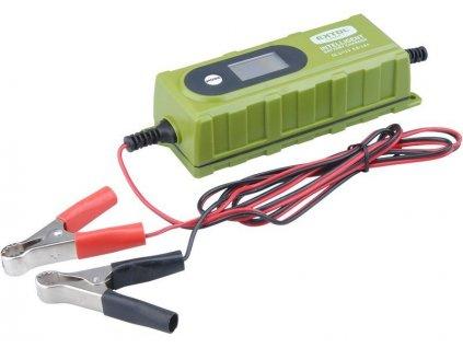 Nabíječka autobaterií 6stupňová s LCD, 3,8 A - EXTOL CRAFT EX417300