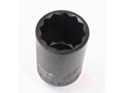 """Nástrčná kovaná hlavice na matice hnacích hřídelí 1/2"""" 36 mm, 12hran - ASTA"""