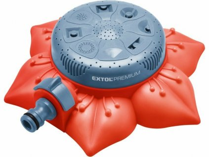 Zavlažovač plošný pokládací, 8 funkcí - EXTOL PREMIUM EX8876467
