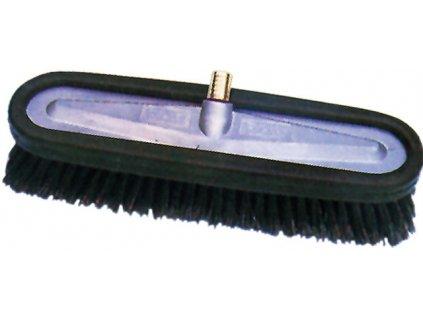 Průtokový kartáč 27x12 cm, hliníkové tělo, pro mytí velkých vozidel