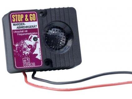 Ultrazvukový odpuzovač kun z motorového prostoru Stop a Go, elektrický 12V