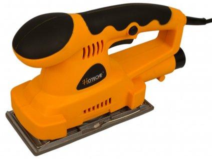 Vibrační bruska 180 W, 187x90 mm, s odsáváním - HOTECHE