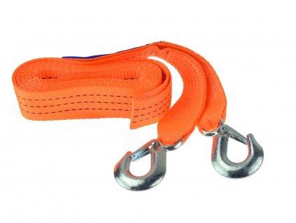 Tažné lano 3 tuny, délka 4 m, s háky