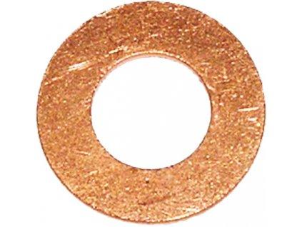 Těsnicí kroužky DIN 7603, měděné, sady 100 ks