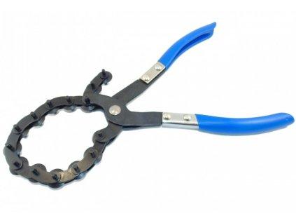 Kleště s řetězem na řezání trubek a výfuků, průměr 20 - 75 mm - QUATROS QS14761