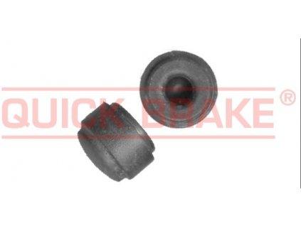 Krytka - čepička odvzdušňovacího šroubu brzd, gumová, otvor 5 mm, univerzální