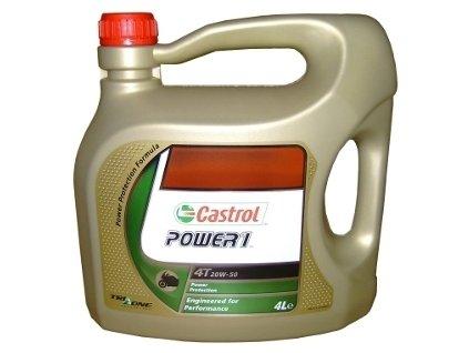 Motocyklový olej Castrol POWER1 4T 20W50 4L