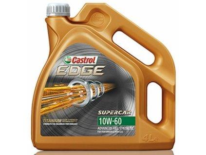 Motorový olej Castrol EDGE TITANIUM FST SUPERCAR 10W60 4L
