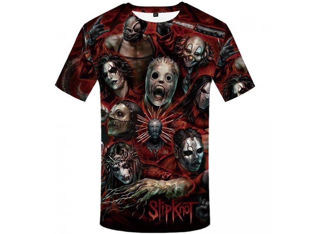 Tričko Skupina Slipknot (Číslování velikostí Asijské, Velikost XXL)
