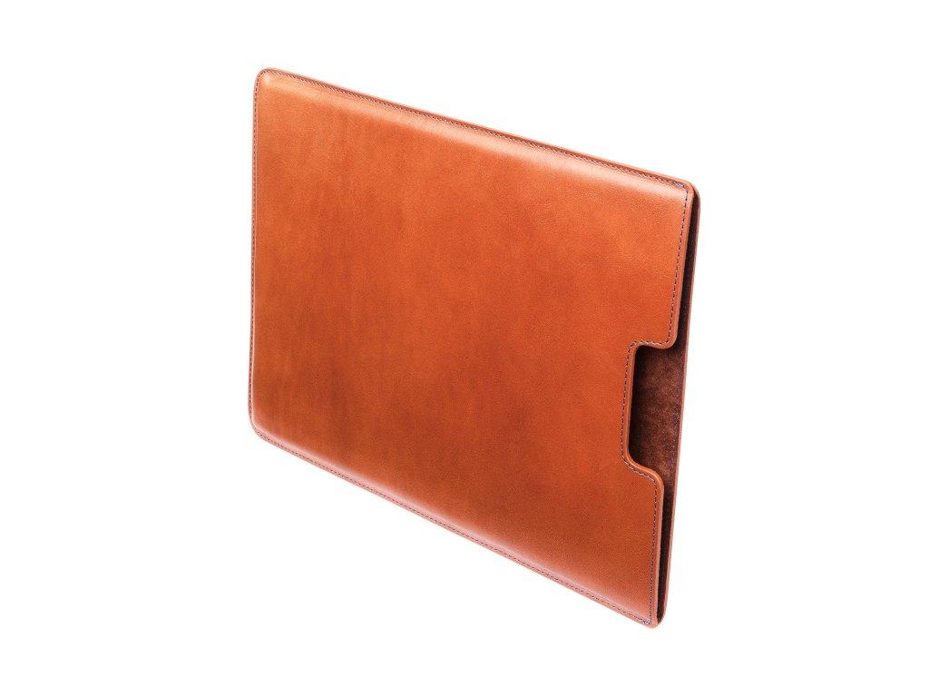 """Kožený obal na MacBook 12"""", Hnědý"""