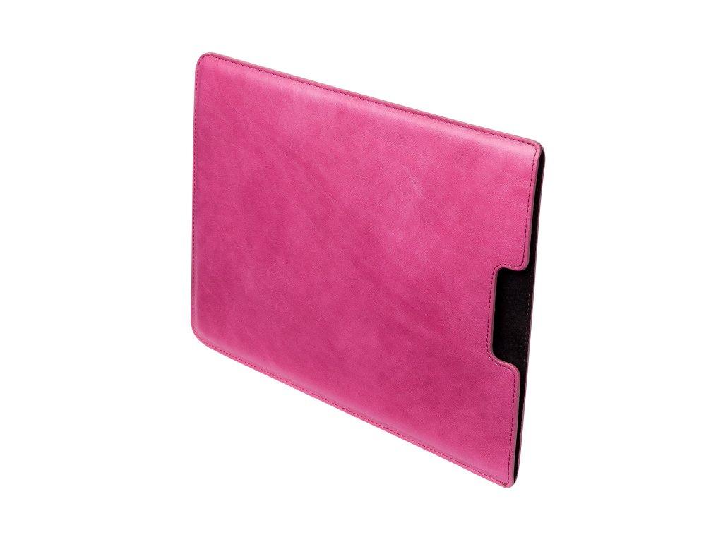 """Kožený obal na MacBook 12"""", Růžový"""