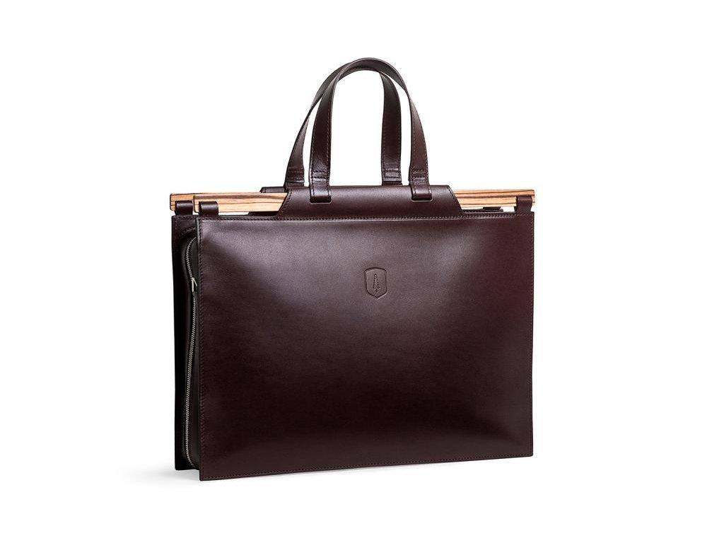 Luxusní kožená pánská taška Lineari Handbag | Klukovna.cz