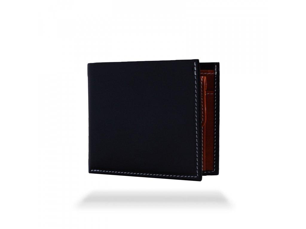 Kožená peněženka Vivid Pocket, Černá