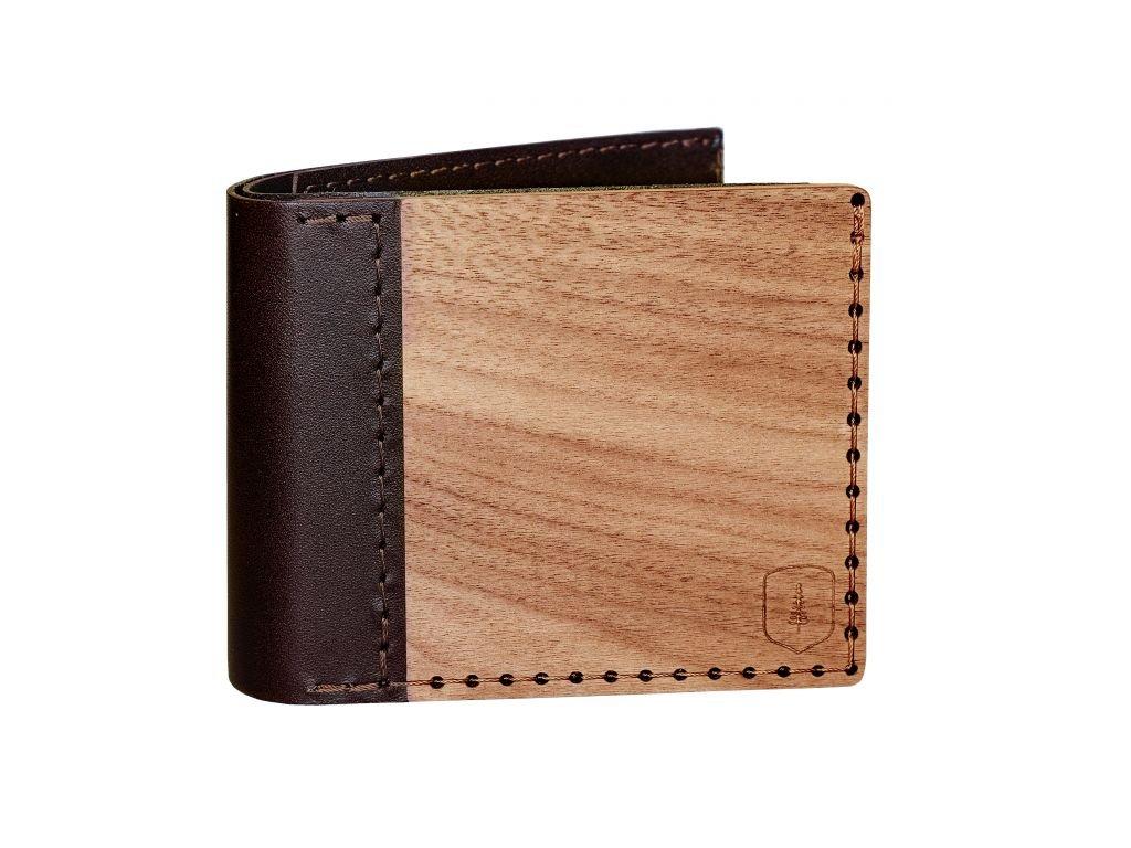 Dřevěná peněženka Virilia