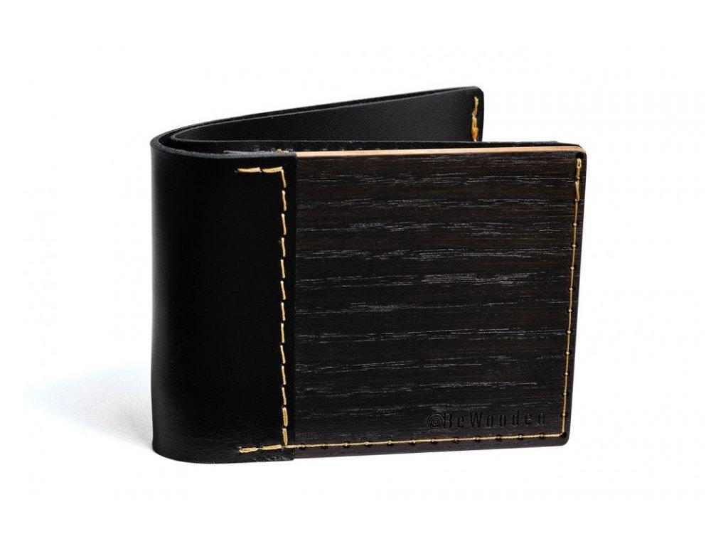 Dřevěná peněženka Tenebra