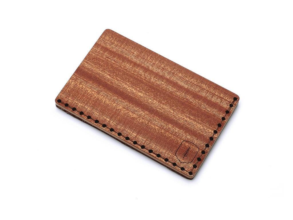 Dřevěný vizitkovník Red Note