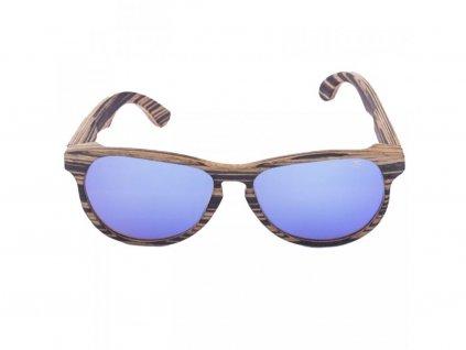 Dřevěné sluneční brýle Šonan