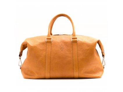 Víkendová taška Beige