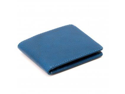 Kožená Slim peněženka Blu