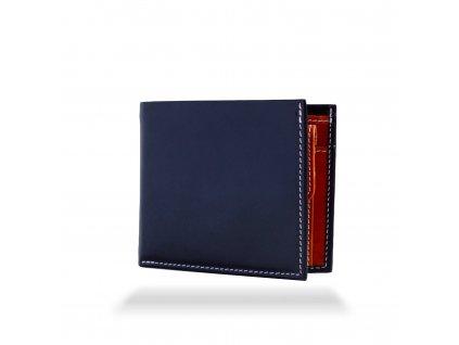 Kožená peněženka Vivid Pocket, Tmavě modrá