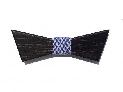 Dřevěný motýlek Lišejníkovec Černý