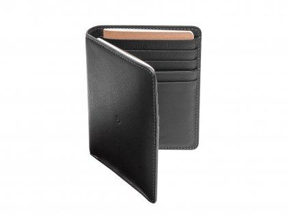 Kožená cestovní peněženka, Černá