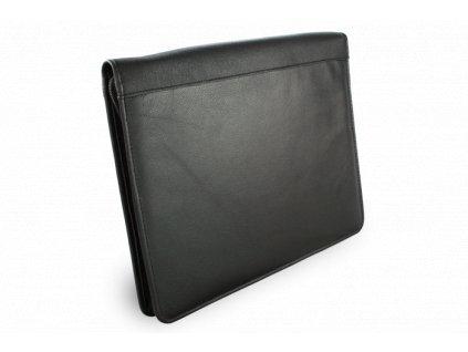 Černá kožená spisovka