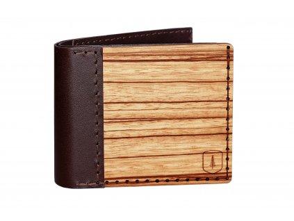 Dřevěná peněženka Lineari