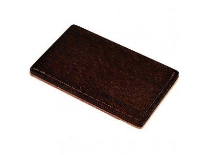 Dřevěný vizitkovník Brunn Note