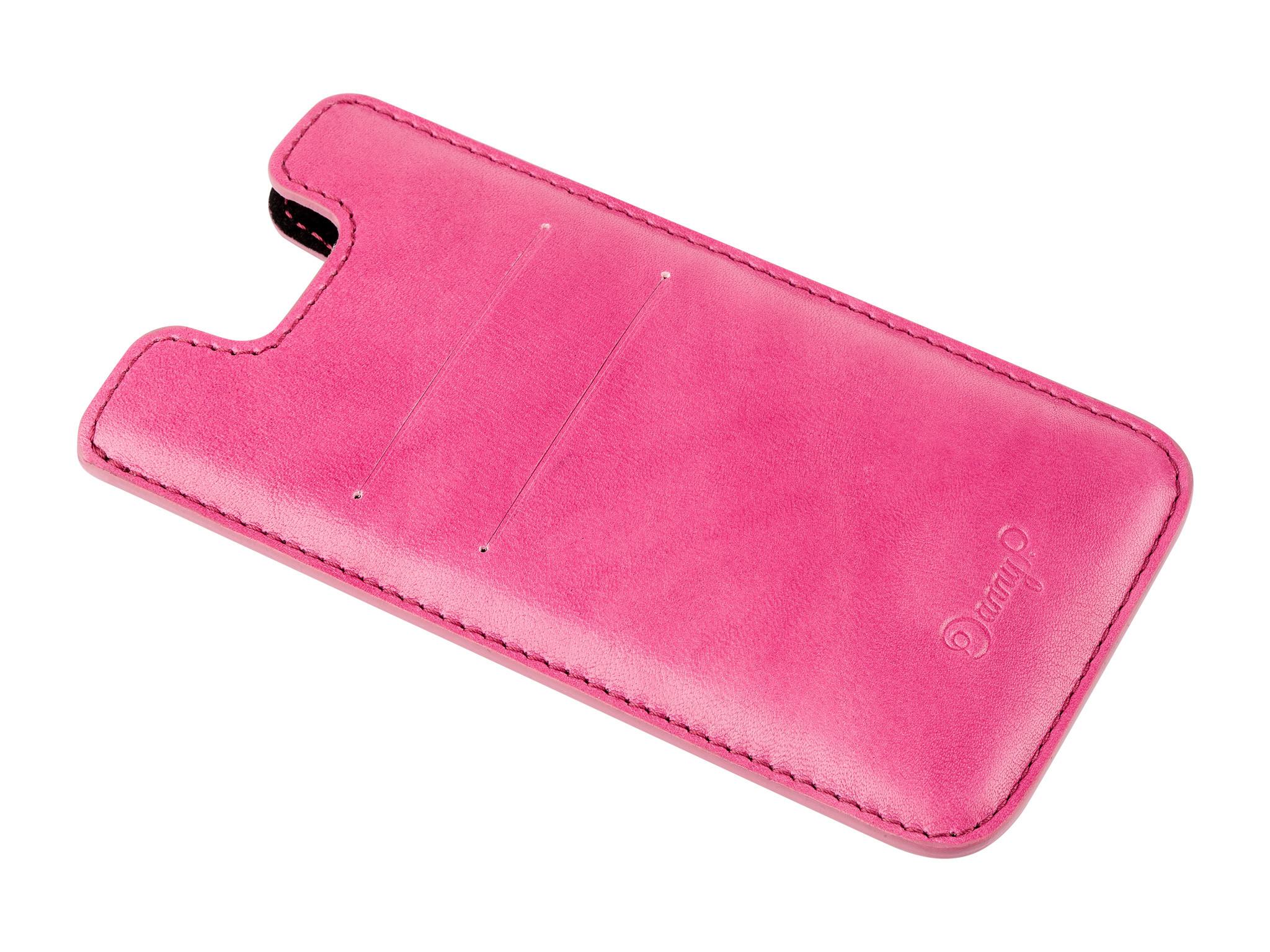 Danny P. Kožený obal na iPhone 7/6S/6, Růžový