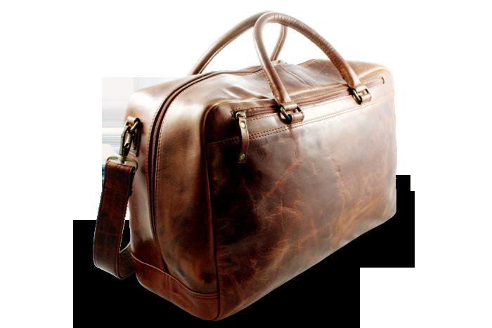 Arwel Cestovní kožená taška