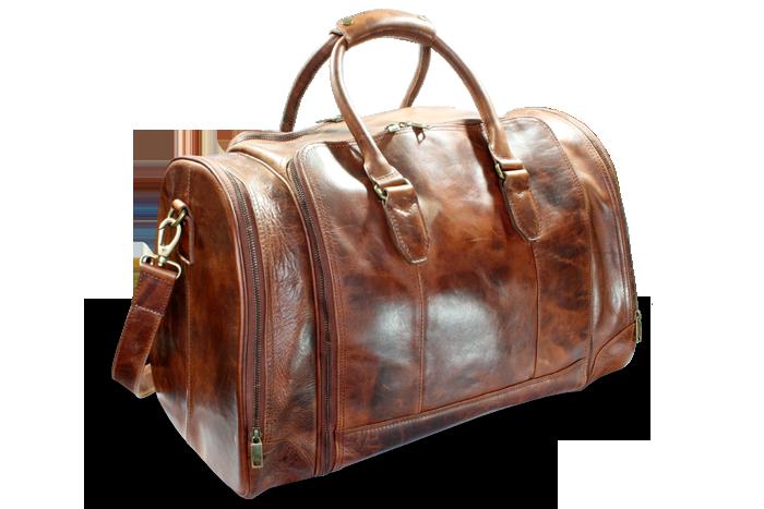 Arwel Velká cestovní kožená taška