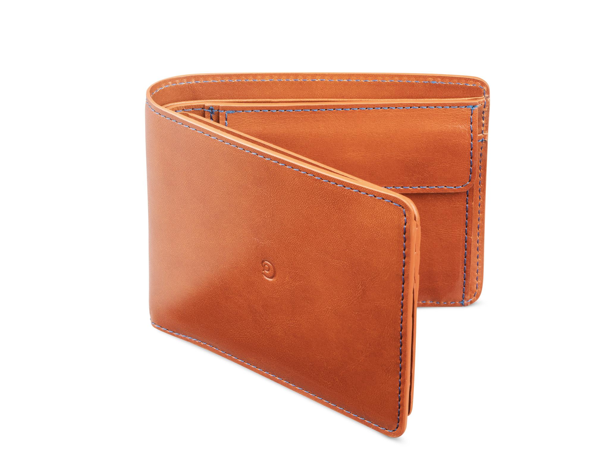 Danny P. Pánská kožená business peněženka, Hnědá