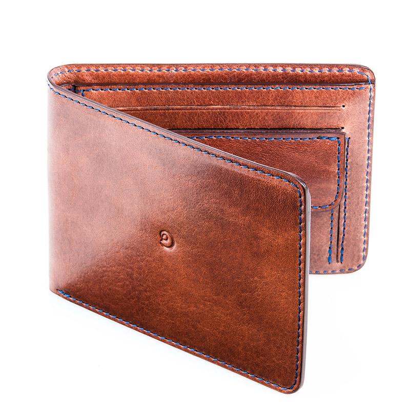 Danny P. Pánská kožená peněženka, Tmavě hnědá