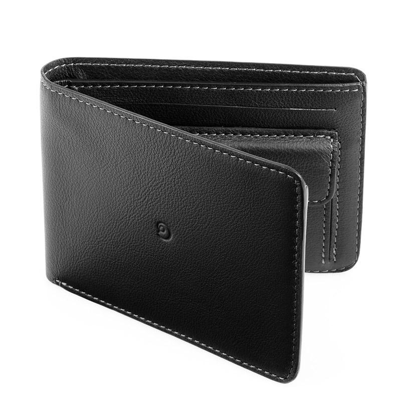 Danny P. Pánská kožená peněženka, Černá