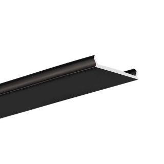Krycí LED difúzor KLUŚ MP-22 čierny - 17167L9005