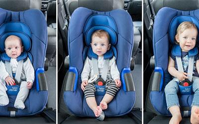 Správny výber autosedačky - nová norma i-Size