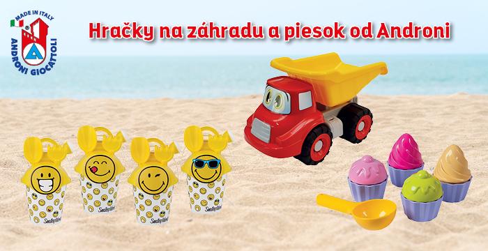 Androni - hračky do piesku a na záhradu