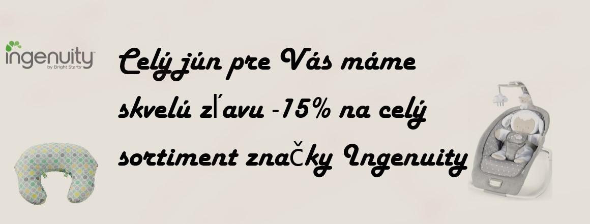 Ingenuity zľava -15%