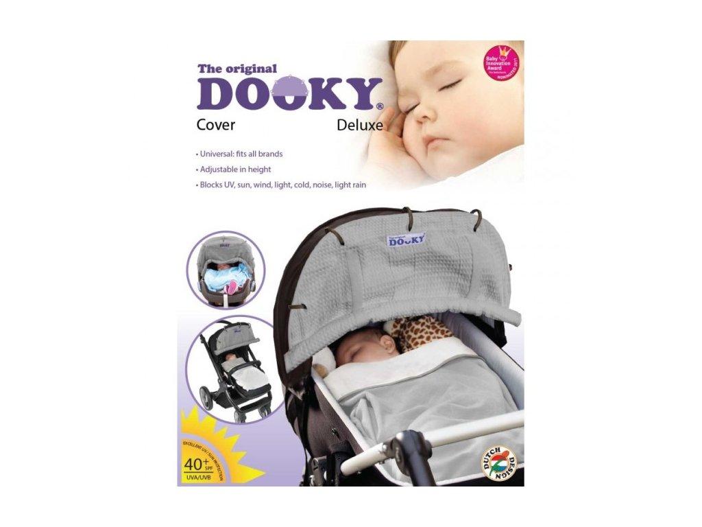 DOOKY Slnečná clona - DeLuxe Grey