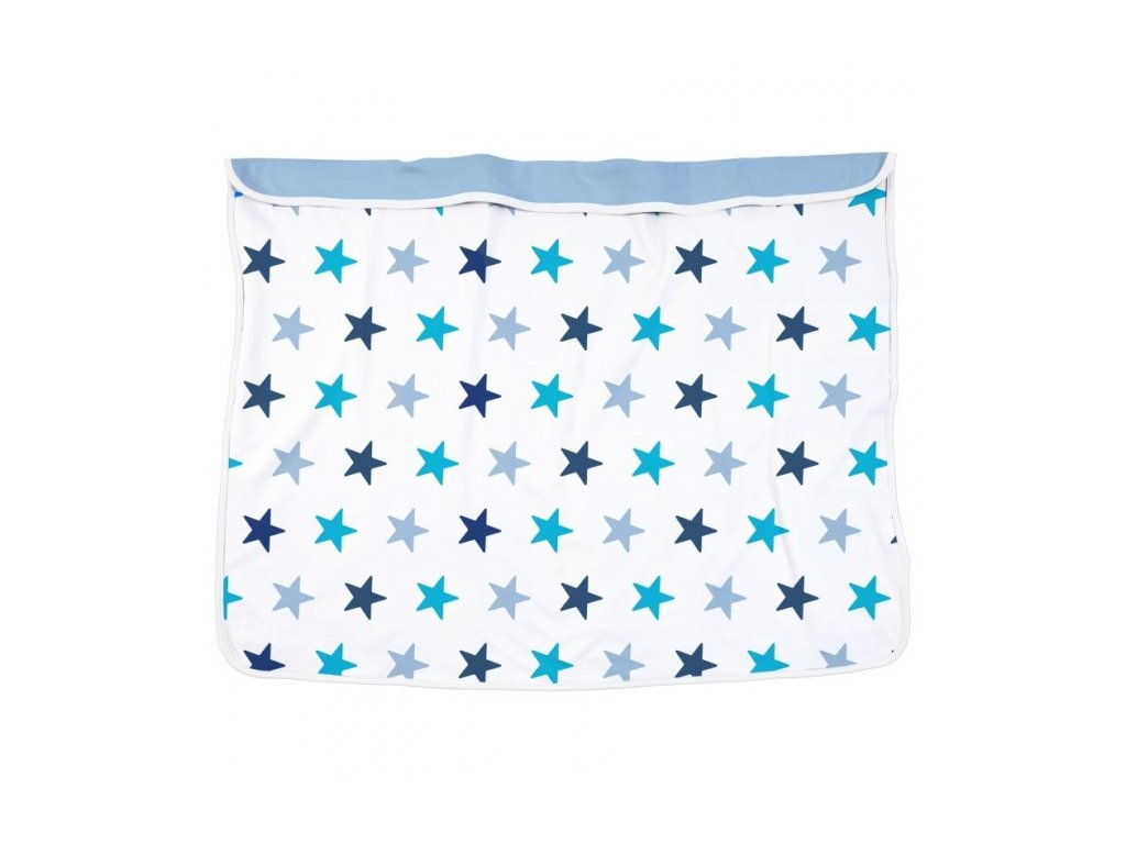 DOOKY Deka Blanket - Blue Stars
