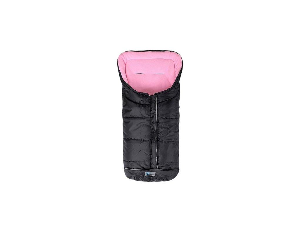 Altabébé zimný fusak EASY LUX - čierno - ružový