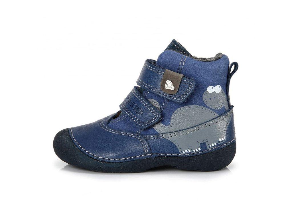 D.D. Step Zimné topánky - bermuda blue veľ.19